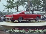 Hot wheels: The Ford Mustang, with its long hood and short rear deck, was officially unveiled at the World's Fair