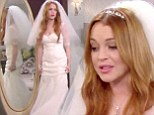 Watch Lindsay Lohan get married... but only for 2 Broke Girls! The enfant terrible hams it up in comic cameo on hit CBS show  [author]