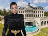 Kim Kardashian looks at FAKE French chateau that was built only six years ago as possible wedding location for May nuptials with Kanye West