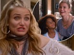'Like me on Facebook!' Cameron Diaz plays Miss Hannigan as out-of-touch nag in new Annie trailer
