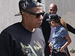 Beyonce and Jay-Z grab Sunday brunch in Venice following their surprise Coachella performances