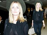 Mischa Barton showcases a lot of flesh as she steps out in semi-sheer top