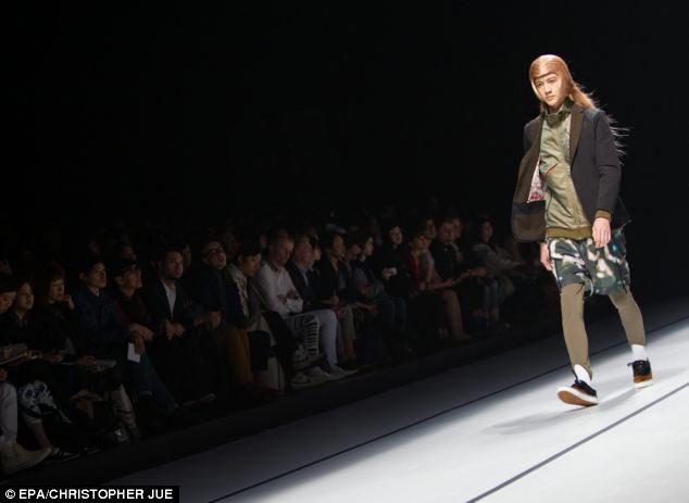 Large turnout: The fashion week has showcased the creations of numerous Japanese designers and brands