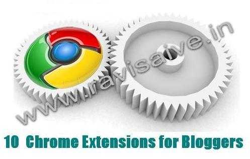 10 Chrome Extensions for Web Developers and Bloggers