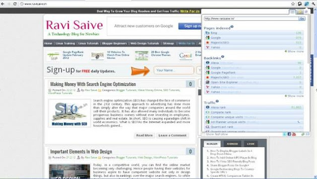Chrome extension SEO for Chrome