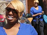 Back to practice: NeNe Leakes arrived at Dancing With The Stars rehearsal on Tuesday in Los Angeles after being shown leaving practice in a tiff on Monday night's show