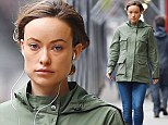 Not your typical maternity wear! Olivia Wilde looks amazing in skinny jeans... less than three weeks before her due date