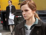 Emma Watson spends her 24th birthday getting prepped to film scenes for 'Regression'