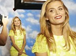 That smile! Cheyenne Tozzi at the launch of Macleans High Definition White at Luxe Studios in Sydney on Tuesday