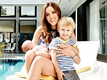 Rebecca Judd shows off post-baby body and stunning home with young son and two-month-old baby girl