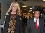Dina Lohan arrives at court with her Lawyer Mark Heller in Long island on DUI charges