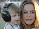 Earth mother: Alicia Silverstone has revealed that her two-year-old son Bear has never been vaccinated for the usual run of childhood diseases including chickenpox and measles because she prefers a natural approach