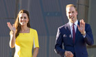 Prince William and Catherine Duchess of Cambridge visit Sydney Opera House