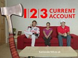Chopped rate: The Santander easy-access Isa for non-123 customers will fall to 1.2% on Tuesday