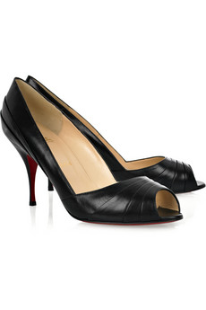 Christian Louboutin�Clownita 85 peep-toe pumps