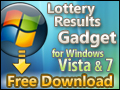Lottery Results Gadget