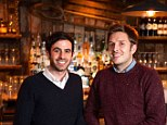 Founders: Andrew Webster and Nick Telson are the brains behind DesignMyNight