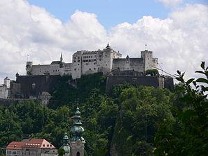 Deutsch: Salzburg, Festung Hohensalzburg, Auss...