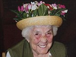 Violet Wood, 94, died of a brain haemorrhage after falling and hitting her head in a hospital ward
