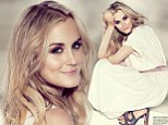 Angelic prisoner: Taylor Schilling poses for new ethereal photos while promoting second season of Orange is the New Black