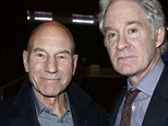Patrick Stewart, Kevin Kline at Poetry and the Creative Mind, New York