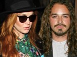 'Lindsay went off the deep end': Lohan's ex Oscar 'Ozzy' Lusth weighs in on the star's sobriety struggle as he admits she's 'battling her demons'