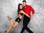 Injured: Dancing With The Stars contestant Danica McKellar revealed on Twitter on Friday that she had broken a rib while practicing with partner Val Chmerkovskiy, pictured