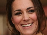 It's not just those pearly whites: Kate Middleton (pictured) is the proud owner of a pronounced pair of dimples, which certainly accentuate her beaming smile