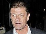 Planning row: Sean Bean, pictured with actress Ashley Moore last year