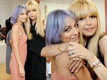 Very yummy mummies! Best friends Nicole Richie and Rachel Zoe cuddle up in flowing dresses at party for children's charity