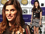 Pregnant Lake Bell conceals her baby bump in patterned ensemble at Tribeca Film Festival Awards