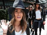 Ready to get back on the horse? Newly single Nikki Reed flashes her toned midriff in a chic cowgirl inspired outfit