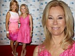 Sharing the spotlight: Hoda Kotb, left, and Kathie Lee Gifford, right, matched in pink as they attended the 2014 Matrix Awards at the Waldorf Astoria in New York on Monday