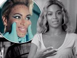 Beyonce in behind the scenes video