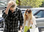 Preach: Vanessa Hudgens and boyfriend Austin Butler were seen going to church together on Sunday
