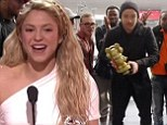 Night of the no shows! Selena Gomez, One Direction and Taylor Swift snub Radio Disney Awards... but Shakira charms and Justin Timberlake performs from Paris