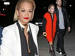 Rita Ora and her boyfriend Calvin Harris s