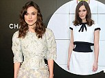 Actress Keira Knightley attends the Begin Again Closing Night Premiere during the 2014 Tribeca Film Festival