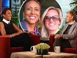 'I took one for the team!' Robin Roberts opens up about finally coming out of the closet on the Ellen DeGeneres Show