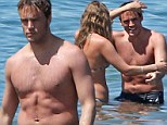 Sam Claflin and Laura Haddock in Hawaii