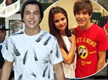 How dare she! Austin Mahone, pictured heading to the set of Extra at Universal Studios in Universal City, CA on Monday, recently joked he cried when he found out Selena Gomez unfollowed him on Instagram
