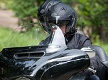 Love in the fast lane! George Clooney takes fianc�e Amal Alamuddin for a romantic ride on the back of his motorcycle after his mom confirms engagement news