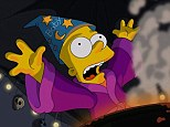 Can't conjure the right ratings: The Simpsons fell to an all-time low as ratings plummeted on Sunday night