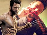 Hugh Jackman fuels his physique by tucking into hearty helping of ribs