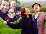 The hills are alive: Natalie Imbruglia has a Sound Of Music moment in the Cotswolds