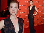 Amy Adams stunned crowds at the Time 100 Gala at Jazz at Lincoln Center on Tuesday in New York