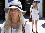 Slender Tori Spelling wears babydoll dress on a shopping trip after Dean reveals he cheated because he 'didn't think' he would 'get caught'