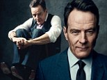 'It's not the childhood I would've designed for myself': Bryan Cranston on growing up without a father... as he admits to not talking AT ALL on Mondays