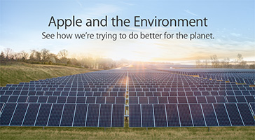 Apple and the Environment. See how we're trying to do better for the planet.
