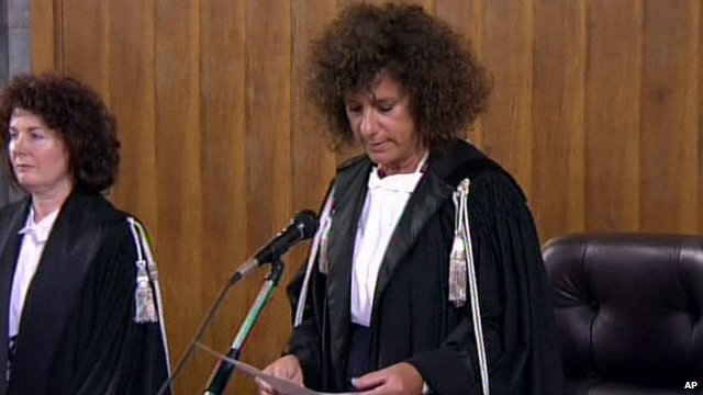 Chief judge Giulia Turri